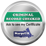 Narps UK Insured confirmation badge